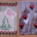 Joyeux noël 2009 et J'aime les chats