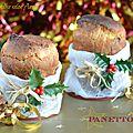Mini panettone {cadeau gourmand pour noël}