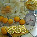 Marmelade d' oranges amères et douces