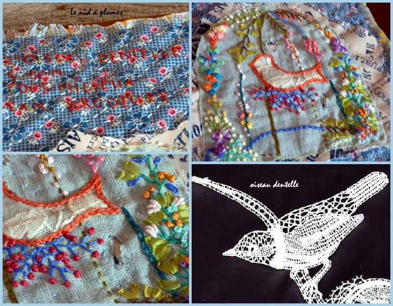 Carnet annuel 2014 - juin - l'oiseau dentelle