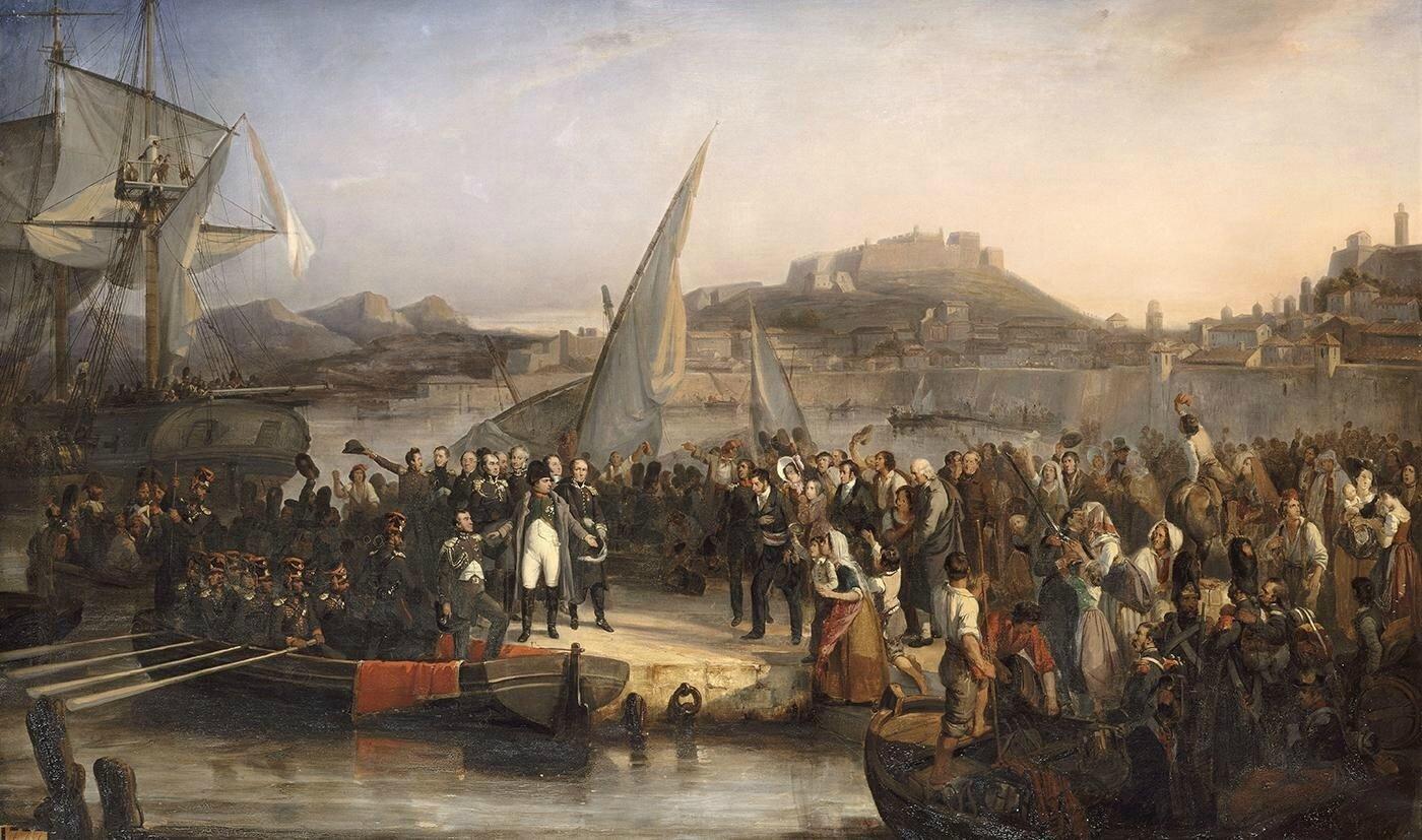 Napoléon Ier s'enfuit de l'île d'Elbe le 26 février 1815