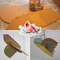 Craft - Oiseau 3D à suspendre 🐦