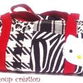 Sac polochon hello kitty
