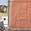 Kal à a campagne: le tracteur de mon grand-père