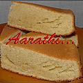 Danish sand cake