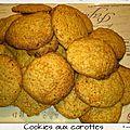 Cookie aux carottes