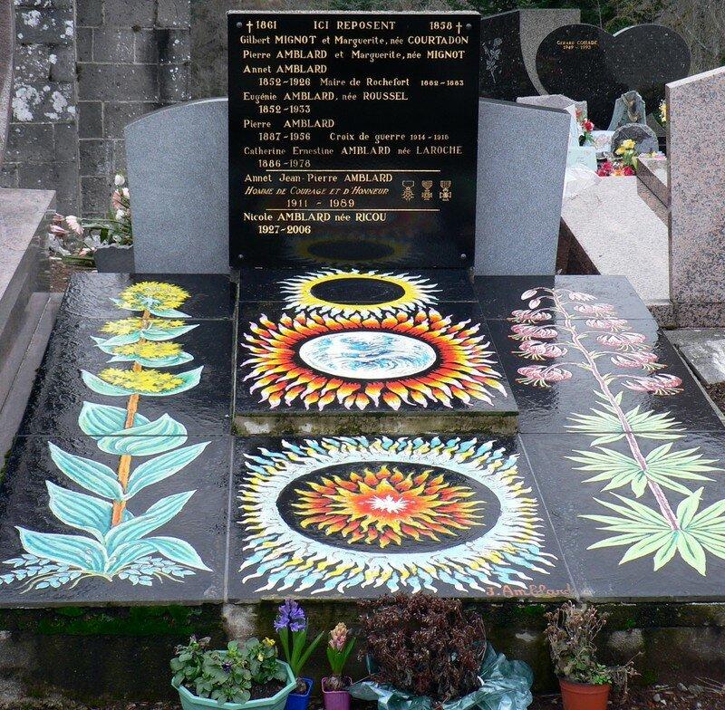 pierre tombale à Saint-Martin de Tours