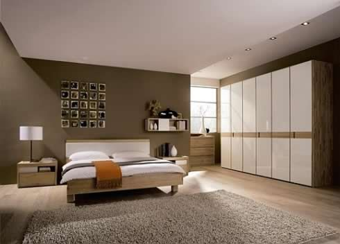 chambre design beige - Photo de chambres design - deco design