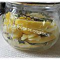 Citron, gingembre, miel thym : la potion magique de l'hiver