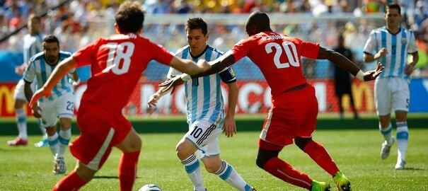 Messi sauve (encore) l'Argentine