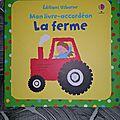Mon <b>livre</b>-<b>accordéon</b> La ferme