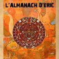 Parution de l'almanach d'eric : calendrier perpétuel