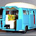 Dinky Atlas Renault Estafette Camping Car 565 A 6