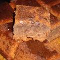 Gâteau chocolat et banane