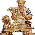 Un dessert de grand mère tout simple à faire