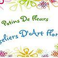 Potins de Fleurs /Cours d'Art Floral