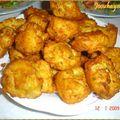 Croquettes de pomme de terre ou