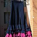 Falda por flamenco