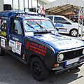 Renault 4 f4 fourgonnette - 4l trophy 2014