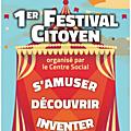 1er festival citoyen à avranches - dimanche 18 octobre 2015
