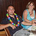 Michael et Vanessa à table