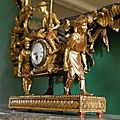 An italian carved giltwood mantel clock late 18th-early 19th century