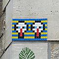 Duo de cigogne, Boulevard <b>Lefebvre</b>