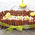 Fondant au chocolat de pâques au thermomix