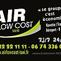Navette Amiens Roissy 100 € Offre AIR LOW COST TAXI 80