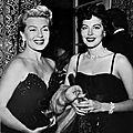Lana et <b>Ava</b>, atouts glamours de la MGM