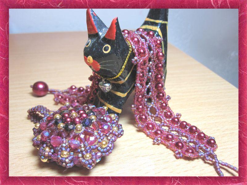 564 Bracelet Lelya de Vyolina assorti à mon médaillon Dodici