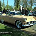 Ford thunderbird avec continental kit de 1956 (retrorencard avril 2012)