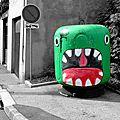 Oak Oak street art