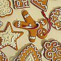 Faux biscuits de Noël