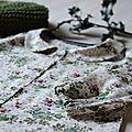 Chemise {jane}, des fleurs en décembre