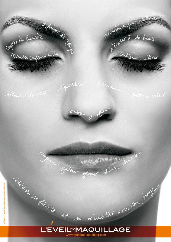 Campagne VIP MAKEUP L'éveil au Maquillage © Cathy Wagner