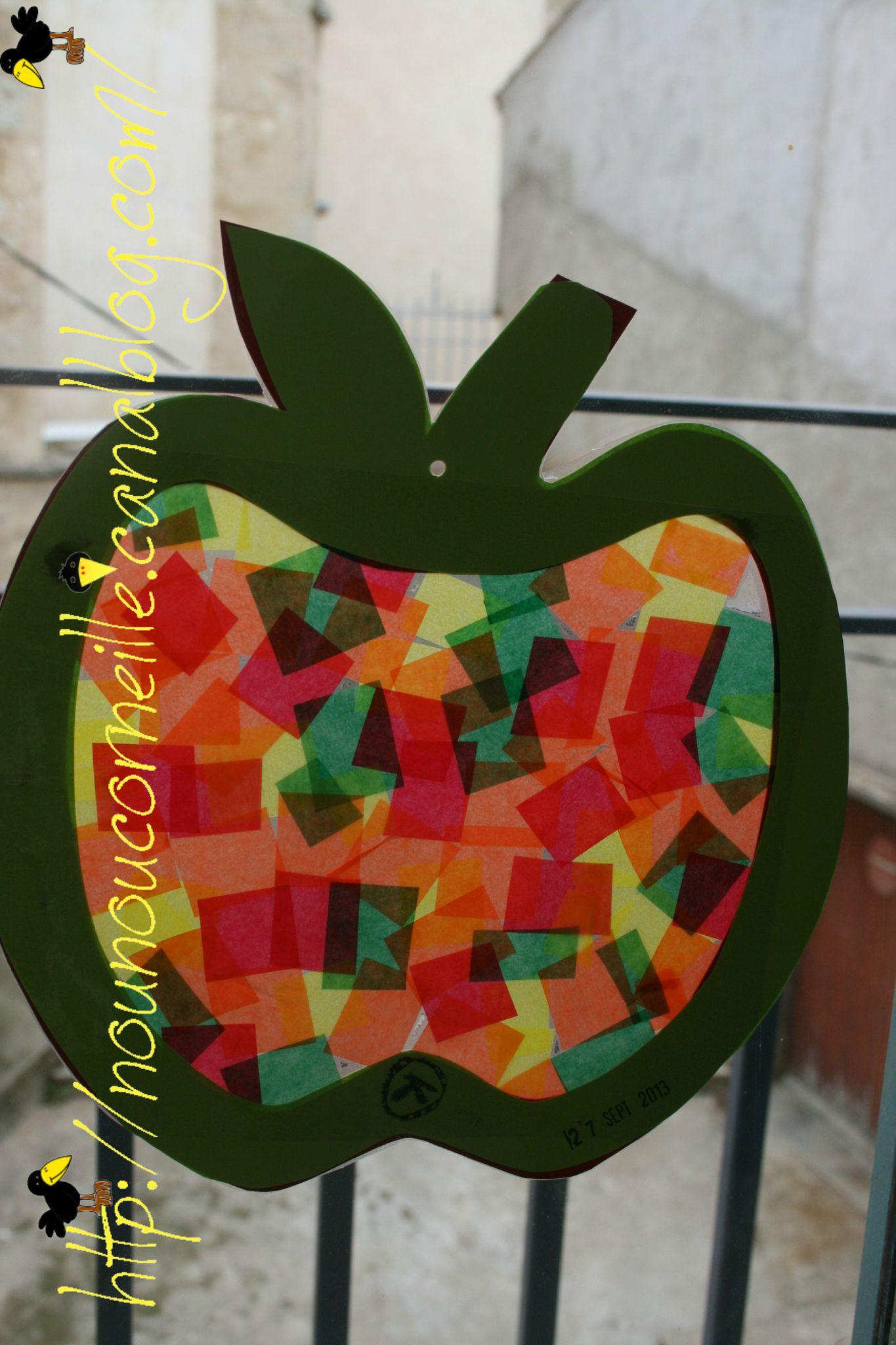Pomme de Guilhem vue de l' interieur