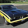 Plymouth <b>Barracuda</b> hardtop coupe-1971