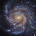 NGC 5457 ou M101 La <b>galaxie</b> du moulin à vent