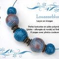 Leçon en images - perles texturées