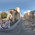 Archéologie: Fouilles du parvis de la basilique Saint-<b>Rémi</b> de Reims - découvertes 500 tombes médiévales (visite virtuelle)