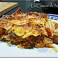 Lasagnes au chou vert vs lasagnes de chou vert