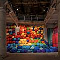AU-DELA de Sheila Hicks au Musée d' <b>Art</b> <b>Moderne</b> de la Ville de Paris