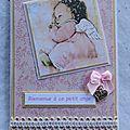 Des cartes pour celebrer des naissances