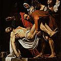 Les tableaux du Caravage à Rome (18/20). N°10 - Pinacothèque du Vatican - La Mise au tombeau.