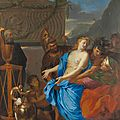 French masterpiece by 17th century artist <b>Charles</b> Le <b>Brun</b> discovered in the Hotel Ritz