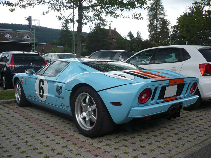 FORD GT Gulf Heritage Edition 580 HP Titisee-Neustadt (2)