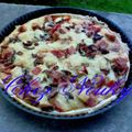 Tarte au 2 fromages