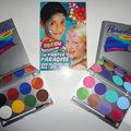 Palettes mehron paradise (basic et pastelle)