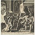 Giorgio ghisi, after luca penni, the calumny of apelles, 1560